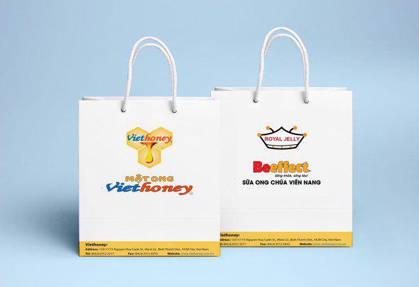 Túi giấy in 4 màu