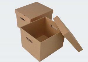 In hộp carton có nắp